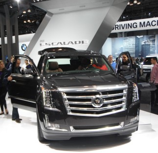 Cadillac Escalade at the 2014 NYIAS